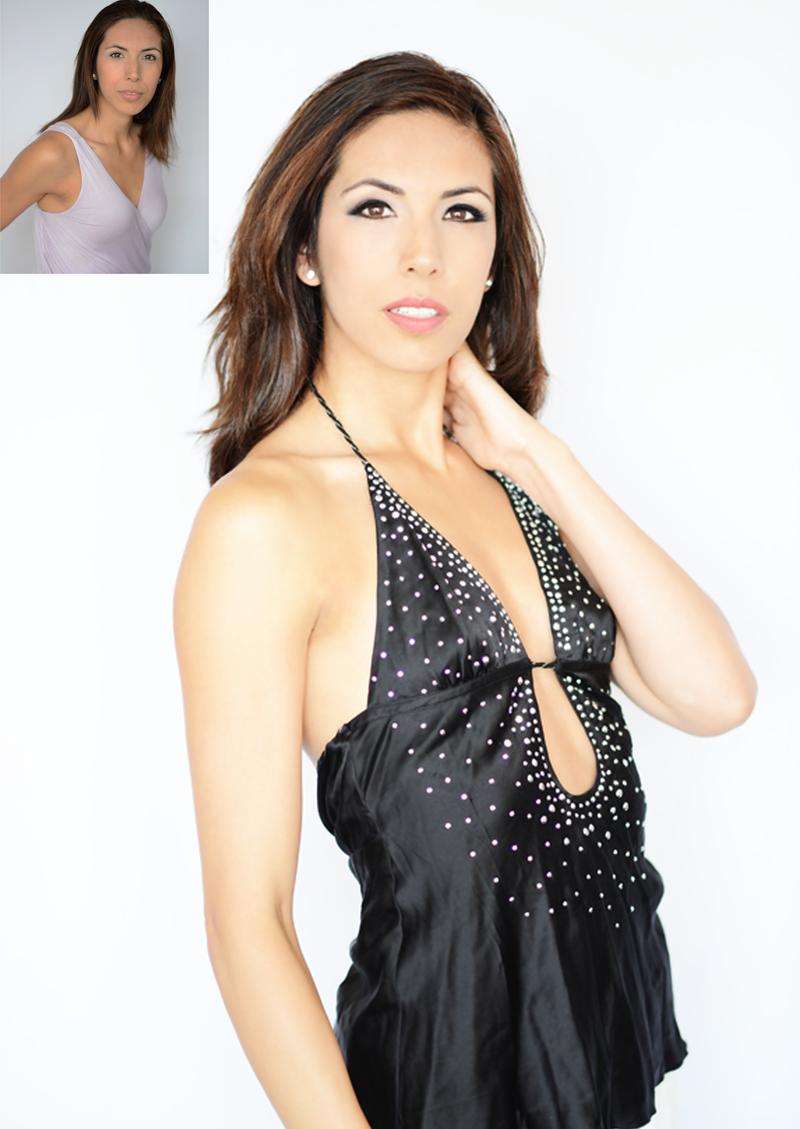 Glamour makeovers by settled based make-up artist Baronés Lovey De Luxe